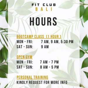 empire fit club bali
