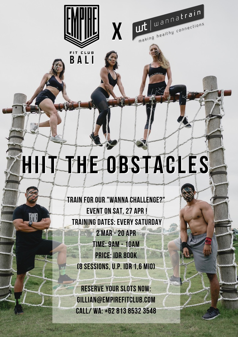 HIIT THE OBSTACLES WANNATRAIN