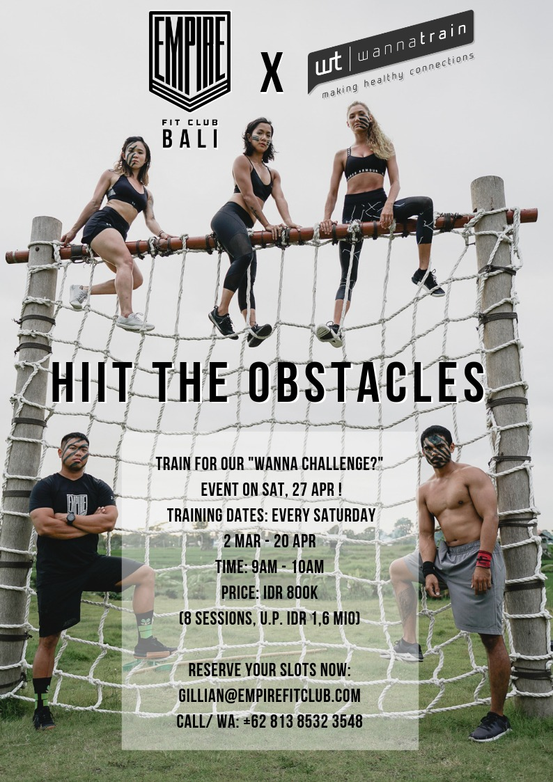 hit the obstacles